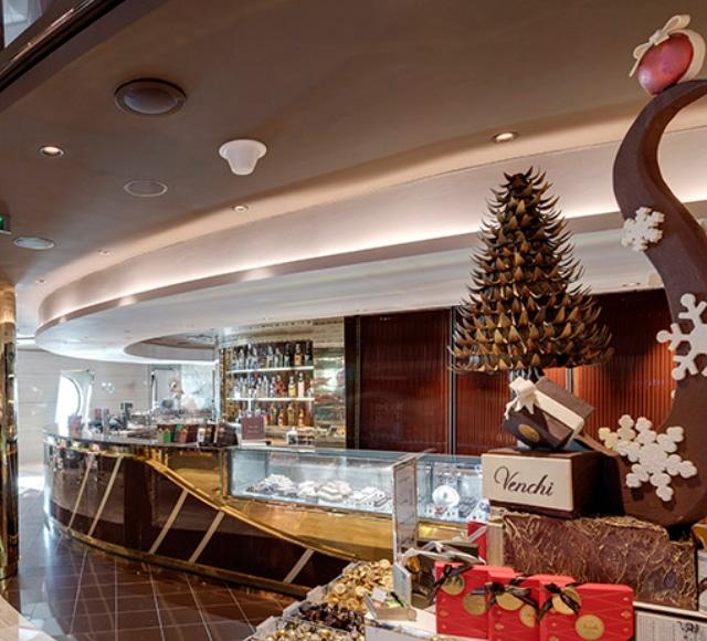 Venchi 1878 Chocolate Bar e Venchi 1878 Gelato & Crêperie